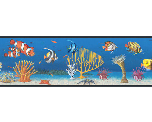 Seascape Peel and Stick Wall Border - Kids Wall Decor Store