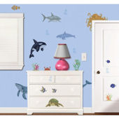 Under The Water Wall Sticker Kit