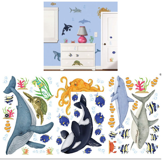 Under The Water Wall Sticker Kit - Wall Sticker Outlet