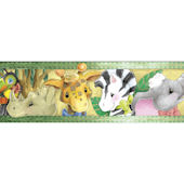 Zootles Peel and Stick Wall Border