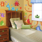 Monster Splat Wall Sticker Room Kit