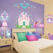 Princess Camryn Wall Sticker Room Kit