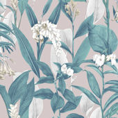 Graham and Brown Botanical Dusk Wallpaper
