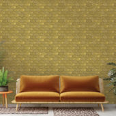 Brass Belly Brass Peel Stick Wallpaper
