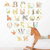 Alphabet Zoo Wall Decal Kit