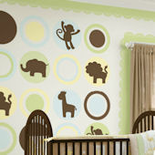Wall Pops Baby Boy Dots Room Package