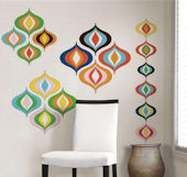 Jonathan Adler Bargello Wave Decal Kit