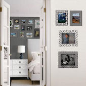 Jonathan Adler Black and White Frames Decal Kit
