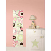 Butterfly Garden Peel and Stick Growth Chart