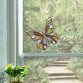 Butterfly Stained Glass Wall Sticker