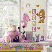 Care Bears Peel and Stick Appliques