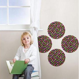Dilly Dally Peel and Stick Wall Dots - Wall Sticker Outlet