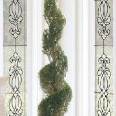 Hanover Clear Stained Glass Wall Sticker