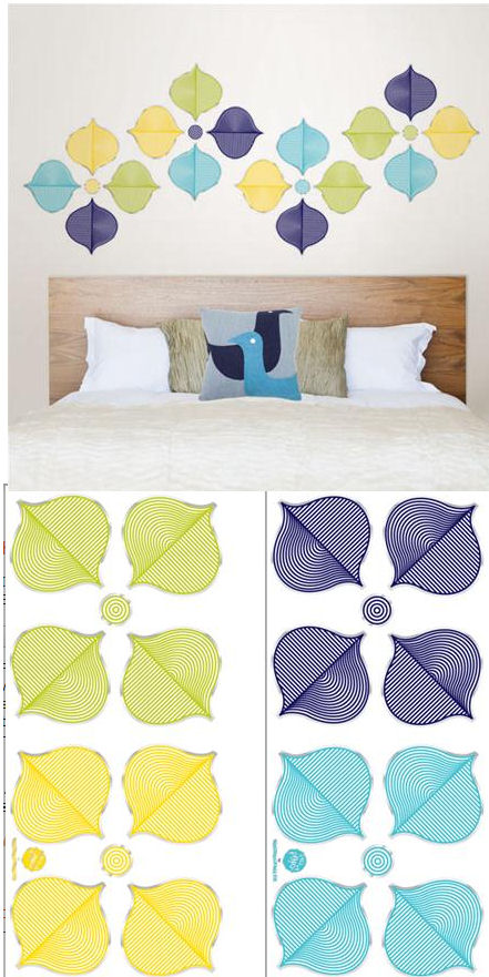 Jonathan Adler Hollywood Decal Kit - Wall Sticker Outlet