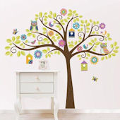Hoot and Hangout Wall Decal Kit