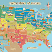 Kids USA Dry Erase Map