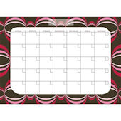 Loopy Red Monthly Calender Wall Sticker