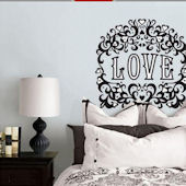 Jonathan Adler Flocked Love Decal Kit