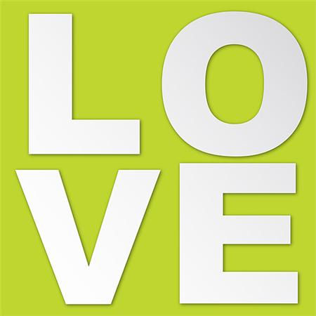 Love Peel and Stick Mirror Set - Wall Sticker Outlet