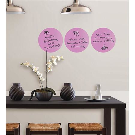 Wall Pops Plush Dry Erase Dot Stickers - Wall Sticker Outlet