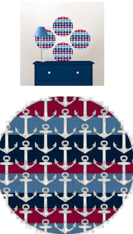 Regatta Sailing Dots Peel and Stick Decals - Wall Sticker Outlet