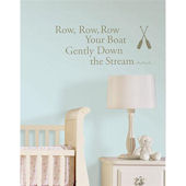 Row Your Boat  Nursery Rhymes Sticker