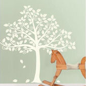 Silhouette Tree Wall Decal Kit