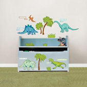 Dinosaur Expedition Peel and Stick Decals