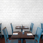 Brick White Peel Stick Wallpaper