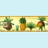 Mango Bay Pre-pasted Wall Border SALE
