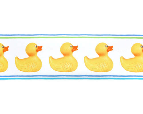 Rubber Ducks Pre-pasted Wall Border - Wall Sticker Outlet