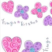 Hugs and Kisses Appliques