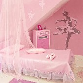 Ballerina - Sudden Shadows Wall Decals