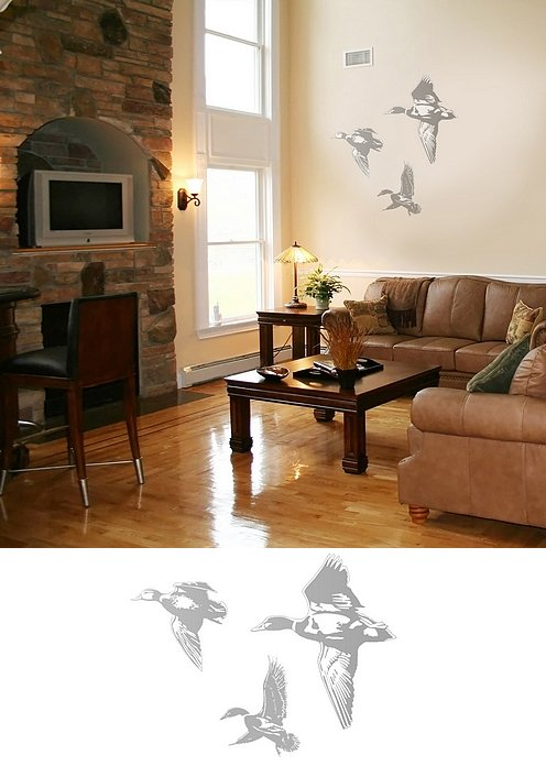 Ducks - Sudden Shadows Wall Decals - Kids Wall Decor Store