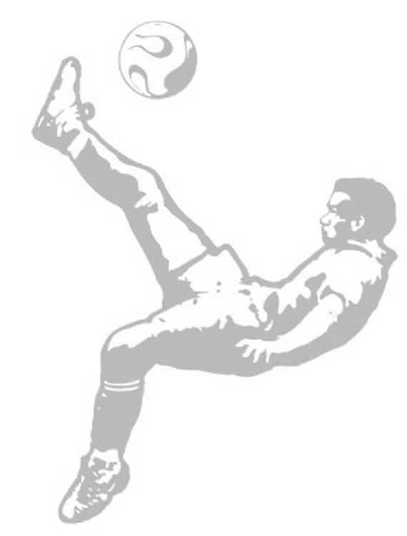 Soccer Flip Kick - Sudden Shadows Wall Decals - Wall Sticker Outlet