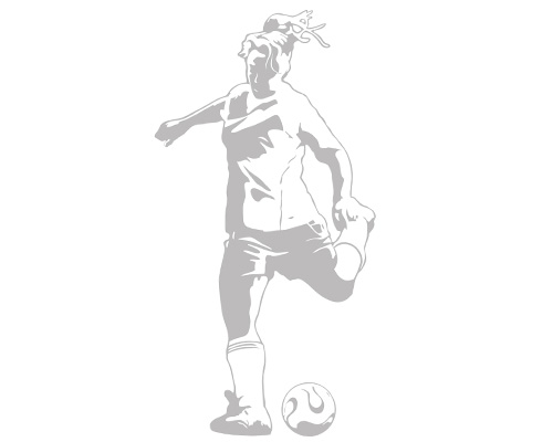 Soccer Footwork - Sudden Shadows Wall Decals - Kids Wall Decor Store