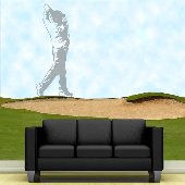 Golfer - Sudden Shadows Wall Decals