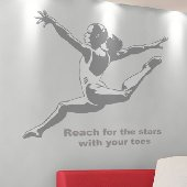 Gymnast - Sudden Shadows Wall Decals