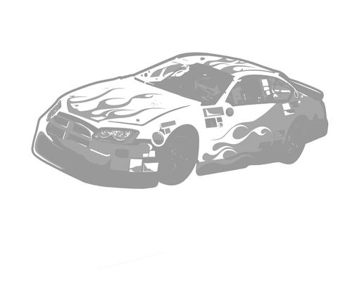 Race Car - Sudden Shadows Wall Decals - Wall Sticker Outlet
