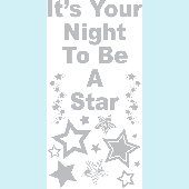 Rock Star Phrases - Sudden Shadows Wall Decals