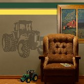 Tractor - Sudden Shadows Wall Decals