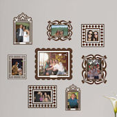 Butch and Harold Brown Sticker Frame Kit