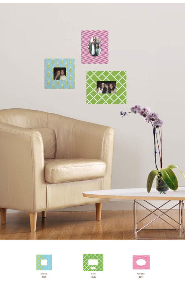 Butch and Harold Uptown Sticker Frame Kit - Wall Sticker Outlet