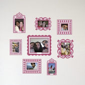 Butch and Harold PINK Sticker Frame Kit