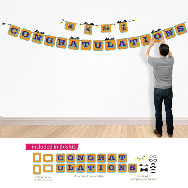 Butch and Harold Congratulations Sticker Banner  - Wall Sticker Outlet