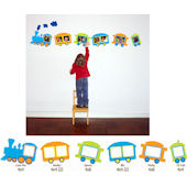 Butch and Harold Train Sticker Frame Kit