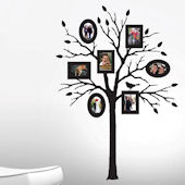 Butch and Harold Peel and Stick Photo Frame Tree