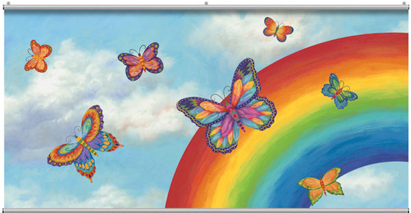 Butterflies Minute Mural - Wall Sticker Outlet