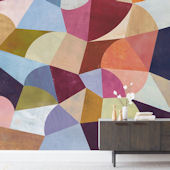 Minted Cadence Repositionable Wall Mural