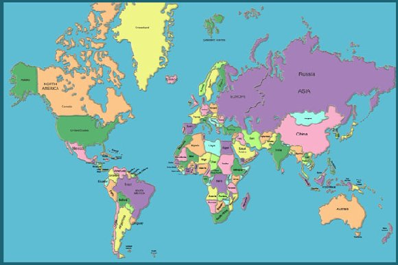 High quality world map blackdgfitness high quality world map gumiabroncs Gallery